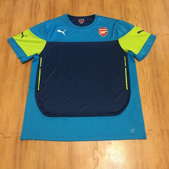purchase cheap efc42 96c2a Arsenal FC Men`s 2XL Puma Soccer Training Jersey